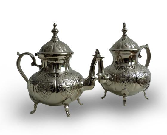 Marokkaanse theepotten 1001 nacht